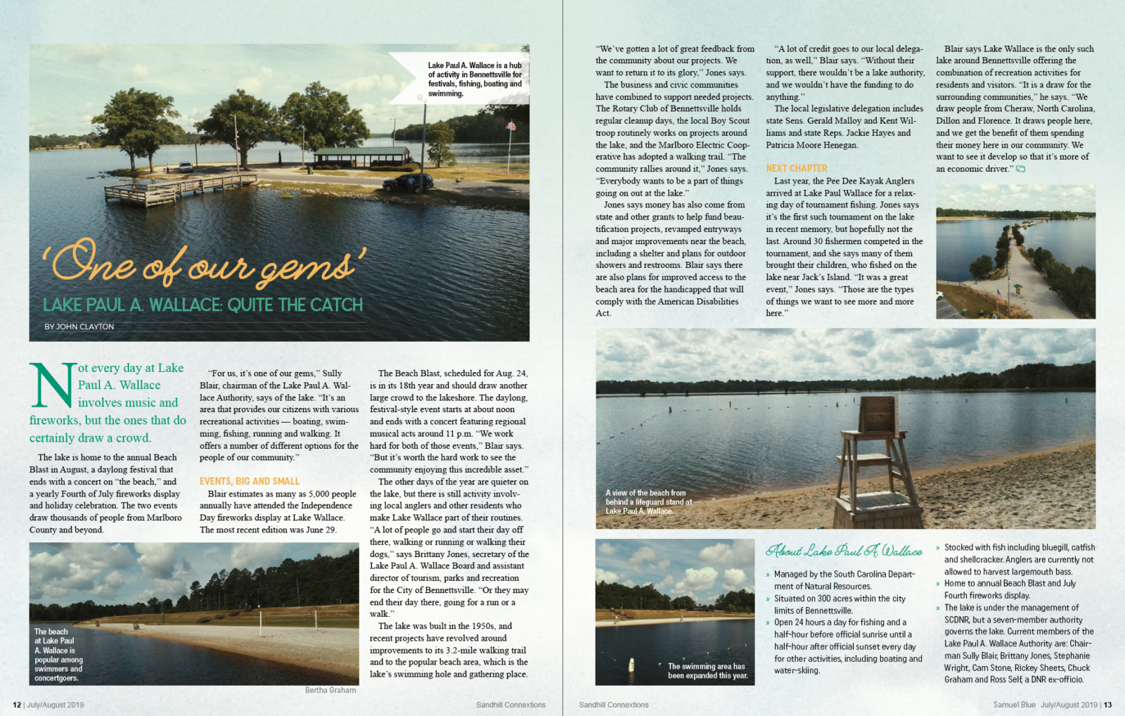 One of Our Gems magazine article