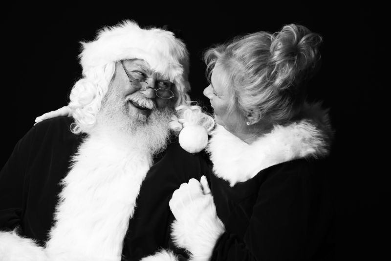 Satnta and Mrs. Claus